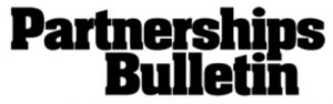 Partnerships Bulletin logo
