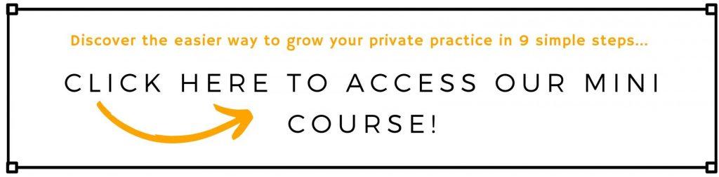 Grow Practice Mini Course Optin