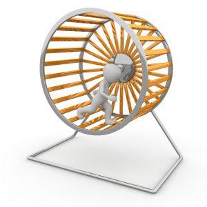 work hamster wheel