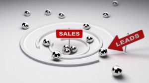 Lead to sales conversions
